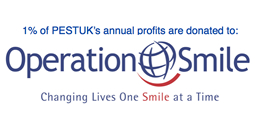 PEST UK are proud to support Operation Smile with a percentage of all profits being donated to help put a smile on the face of a child somewhere in the world.