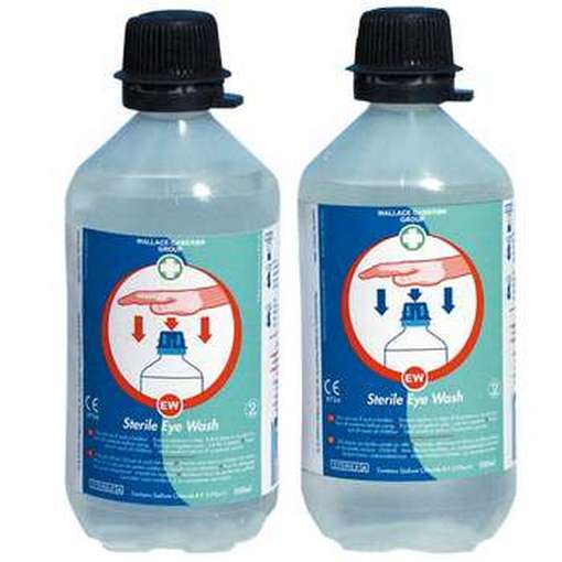 Eyewash 500ml - Sterile in 500ml bottles
